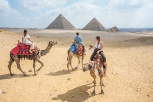 Half Day Pyramids Tour by Camel or Horse Carriage