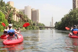 Kayaking on the River Nile