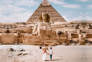 Pyramid and Museum Tour with Entrance Fee Included