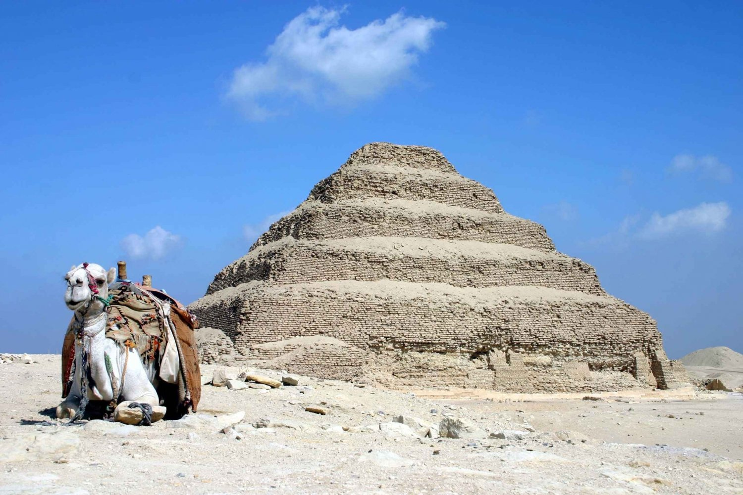 Pyramid of Djoser & Dahshur Tour