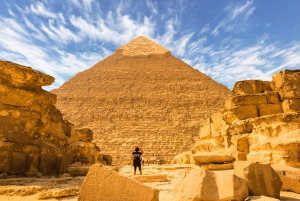 Pyramids and Sphinx Tour with River Nile Felucca Ride