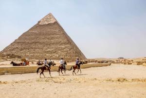 Pyramids, Memphis, and Sakkara Private Day Tour