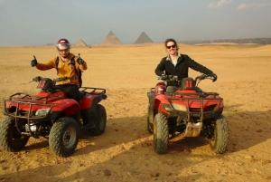 Pyramids of Giza: 1-Hour Quad Bike Desert Safari