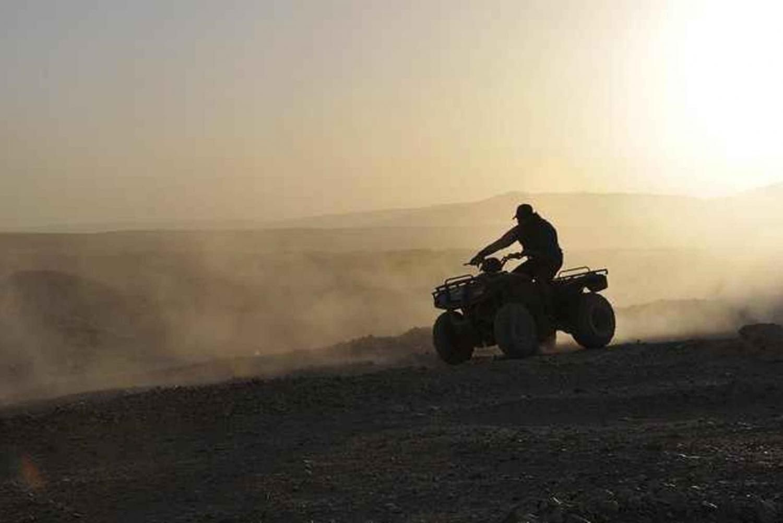 Quad Bike Desert Safari around Giza Pyramids