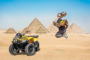 Quad & Camel Ride Combo Tour Around the Pyramids