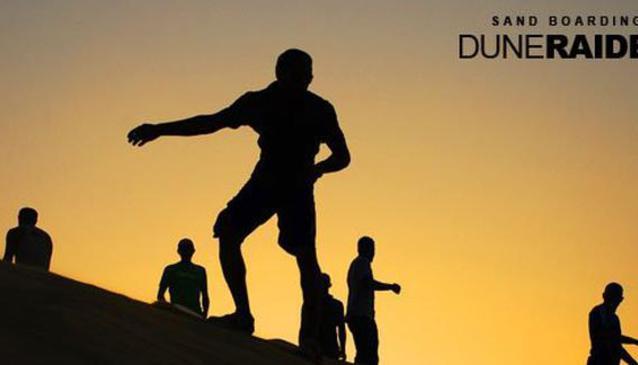 Sandboarding Egypt - DUNE RAIDER