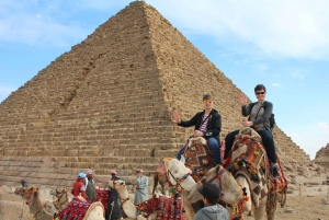The Grand Egyptian Museum and Giza Pyramids with Transfer