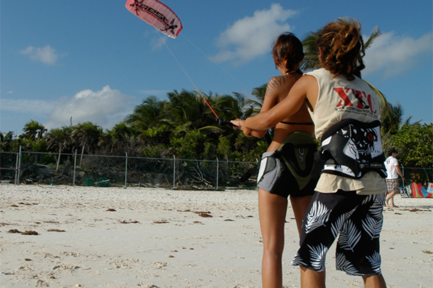 1-Hour Intro Kite Boarding Lesson in Tulum Mexico