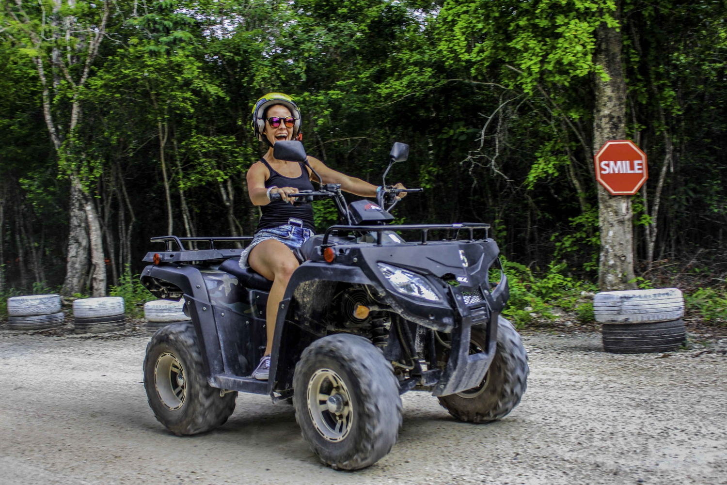 ATV and Open Cenote Swim with Transfer Options