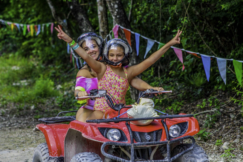 ATV & Cenote Cave Exploration Tour with Transfers