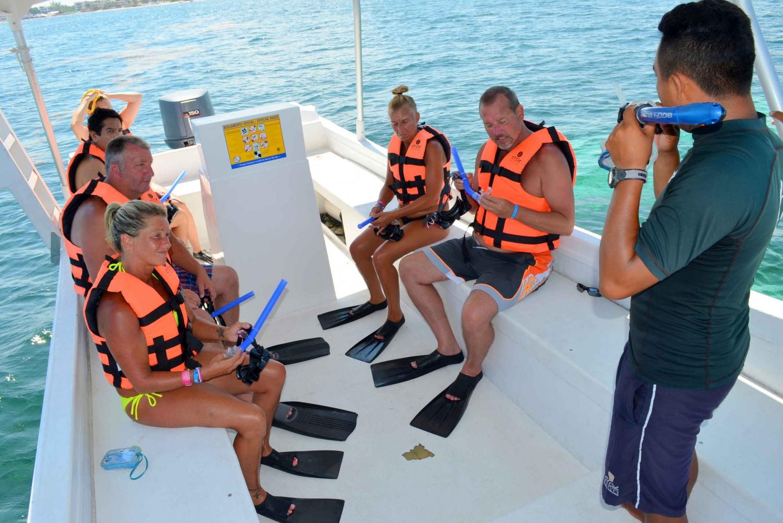 Catamaran Sail + Snorkeling in Puerto Morelos