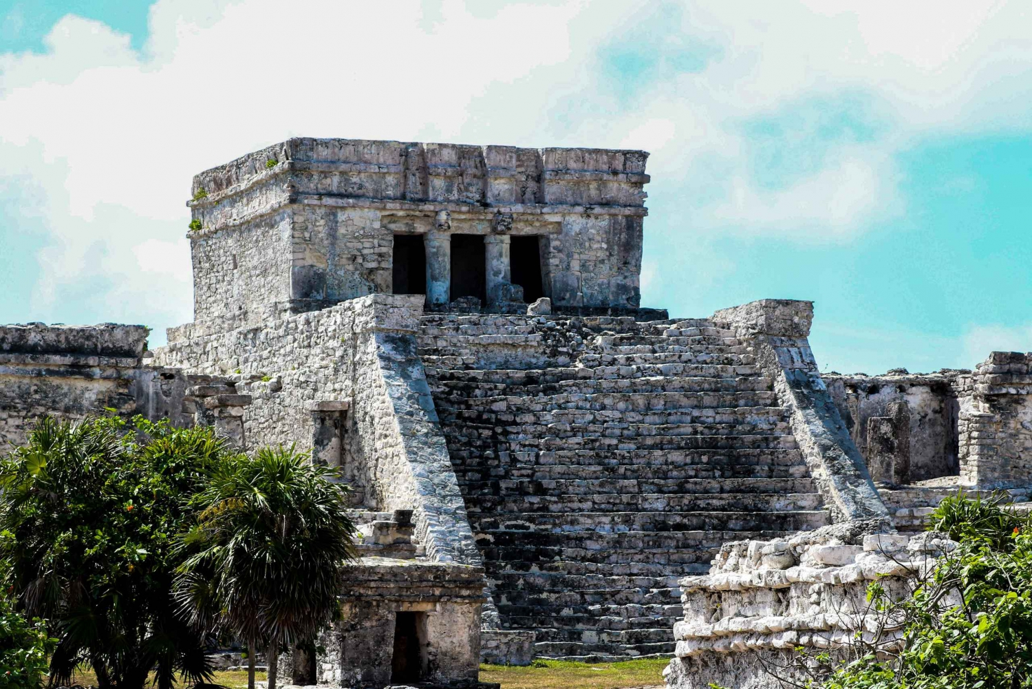 Coba, Cenote, Tulum and Playa del Carmen Tour From Cancun