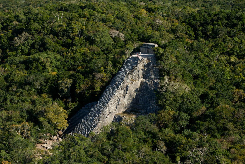 Coba Maya Cenote and Lagoon Full–Day Experience