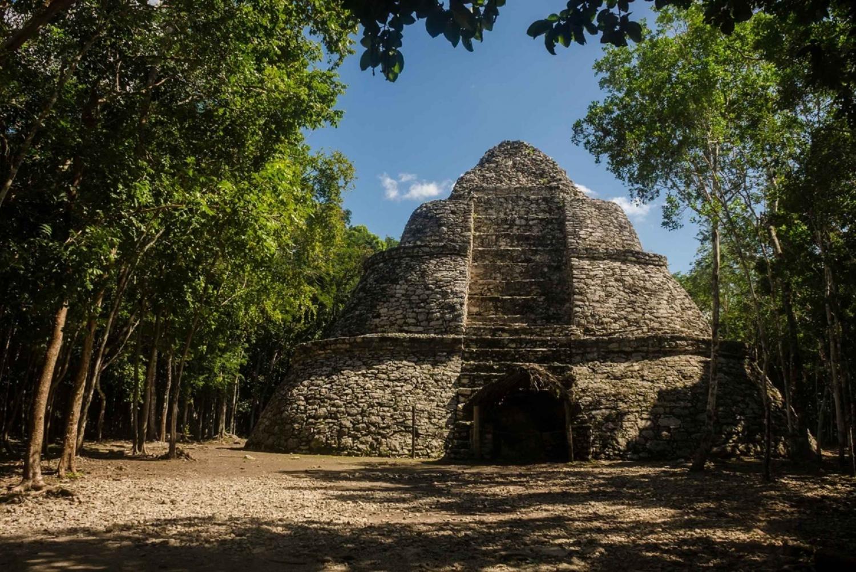 Coba, Tulum and Aldea Maya Ruins with Cenote Trip