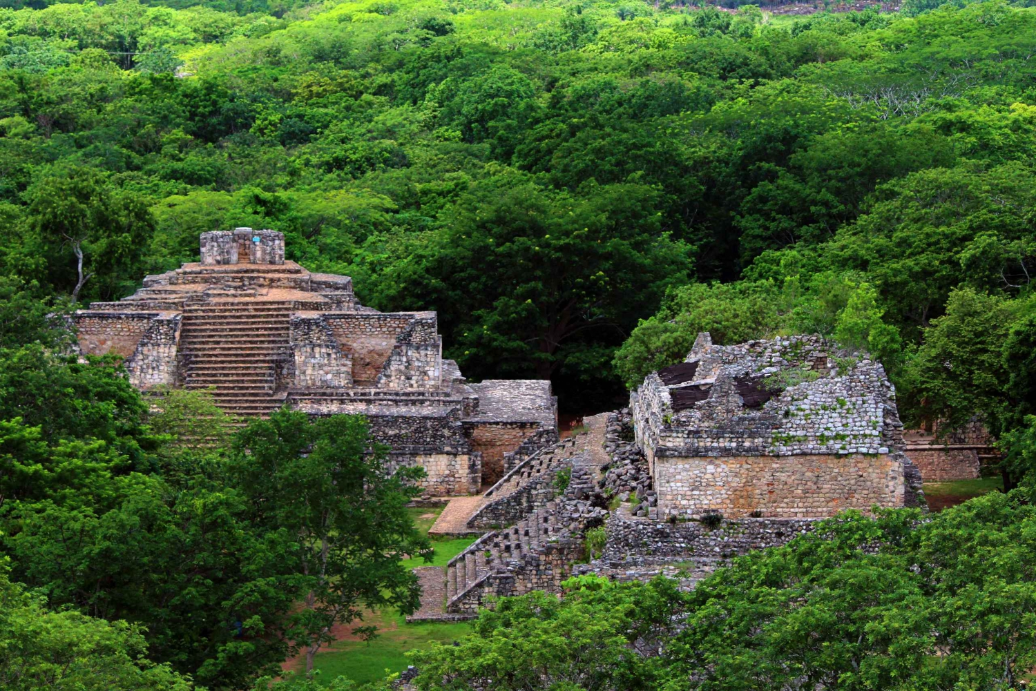 Ek'Balam Mayan Ruins Full-Day Tour with Cenote Trip & Lunch