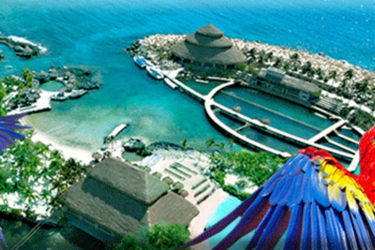 From Cancún and the Riviera Maya: Xcaret Park
