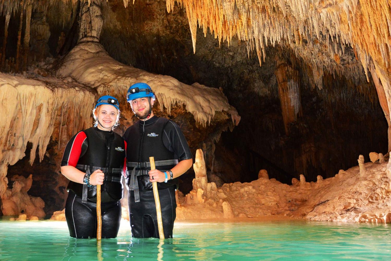 From Cancún: Day Trip to Rio Secreto