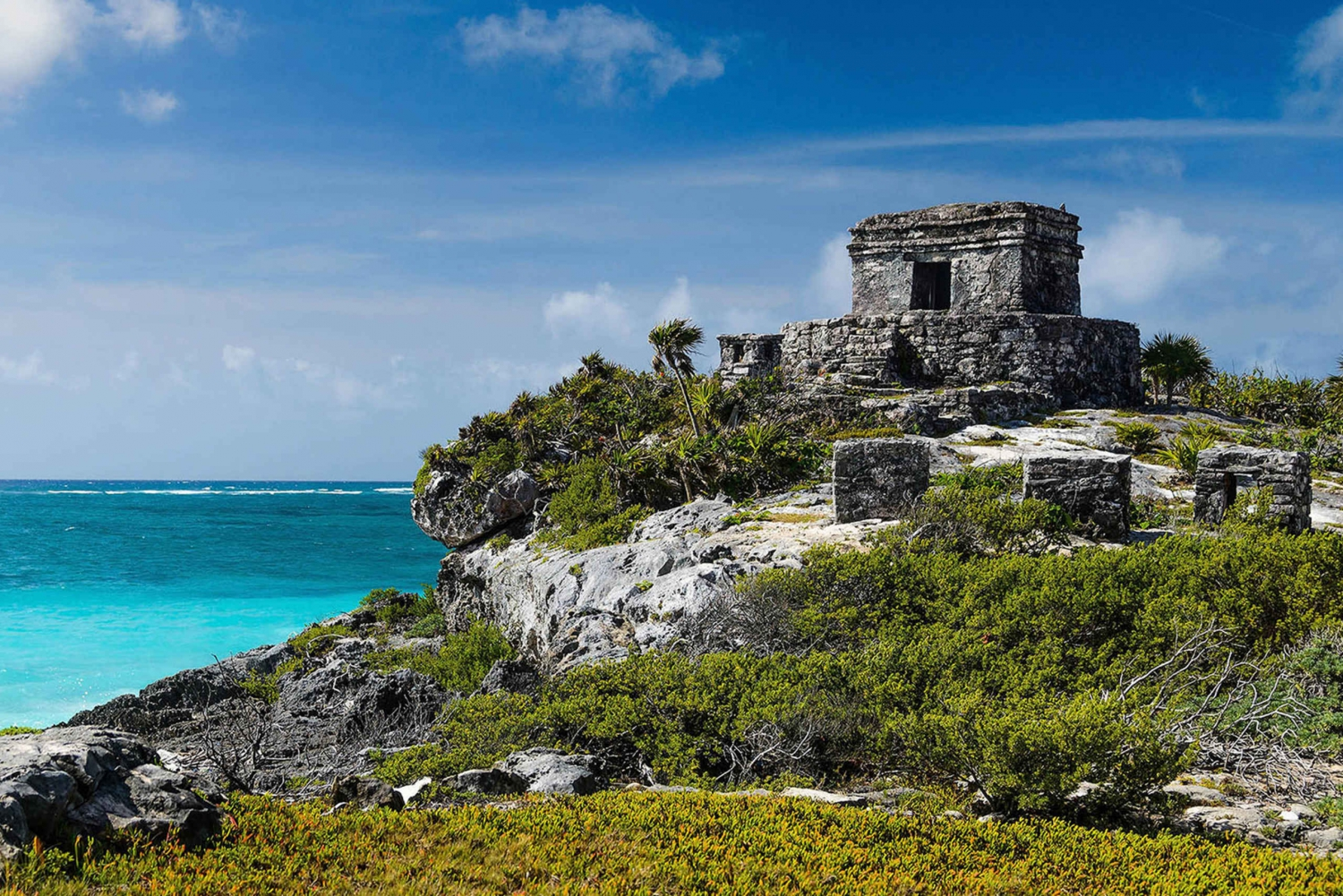 From Cancún: Full-Day Private Tulum Tour