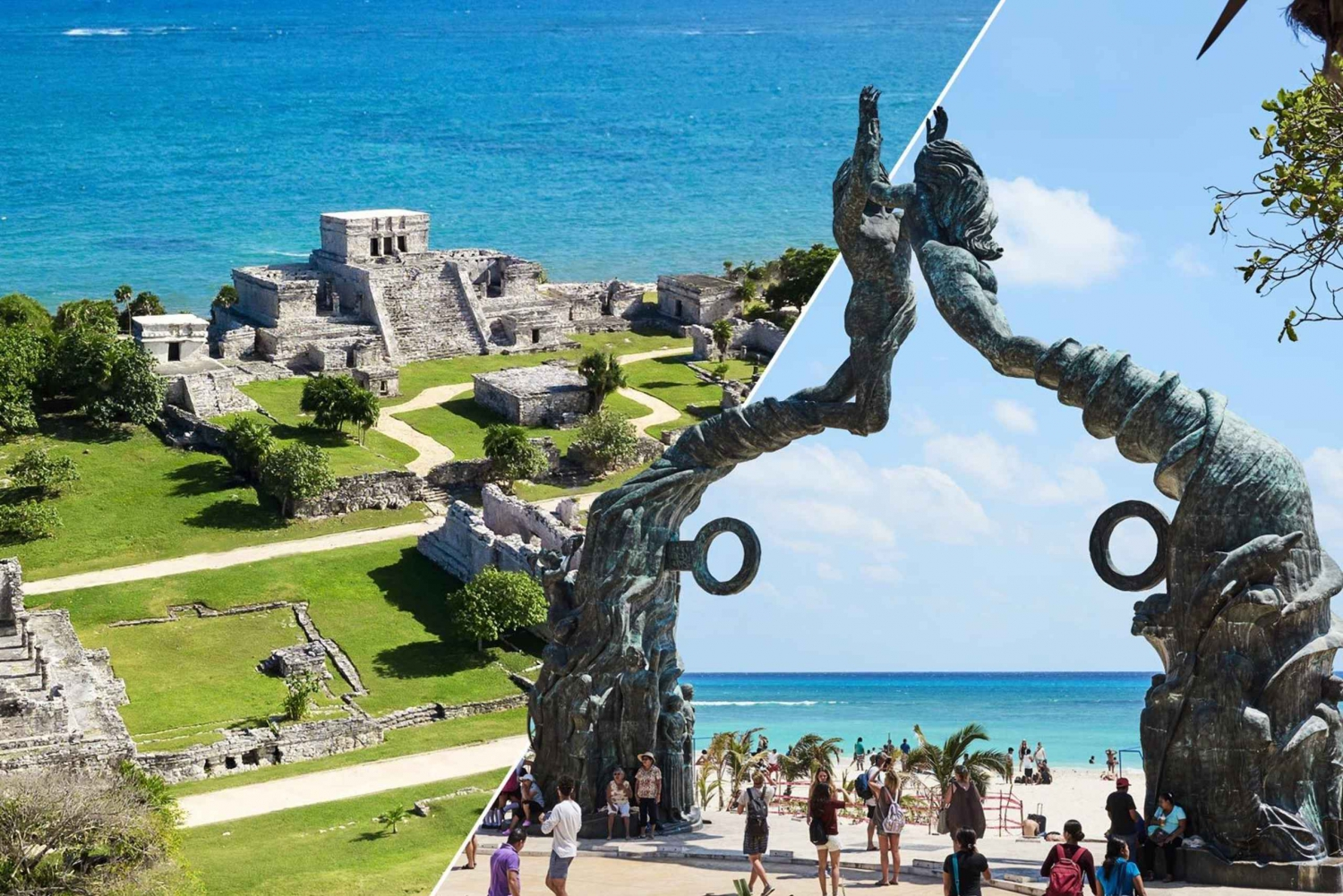 From Tulum and Playa del Carmen Tour