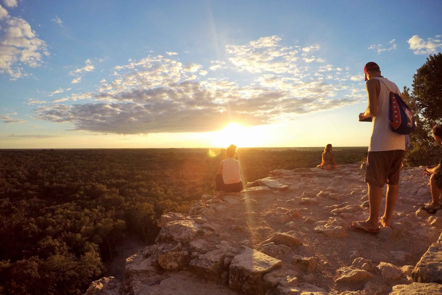 Full-Day Private Coba Sunset Colors Tour with Lunch