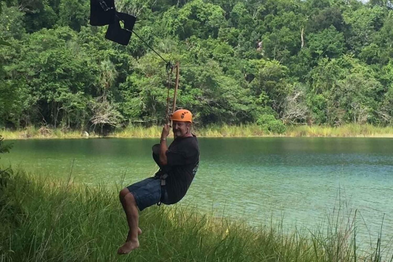 Jungle Adventure at Punta Laguna from Cancun