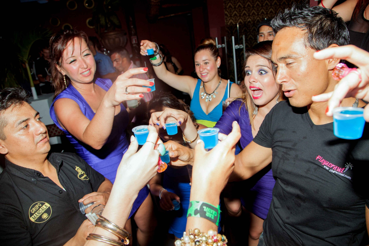 Playa del Carmen All-You-Can-Drink Club Crawl