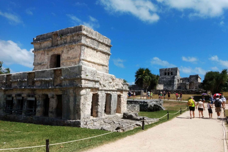 Playa del Carmen and Tulum Ruins Sunset Tour