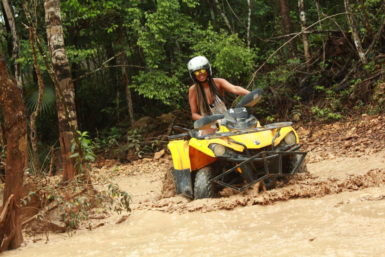 Playa del Carmen: ATV Xtreme & Zipline Experience