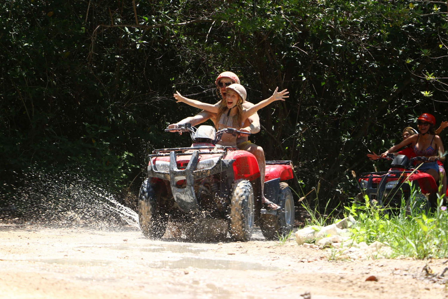 Playa Maroma: ATV Ride through the Mayan Jungle