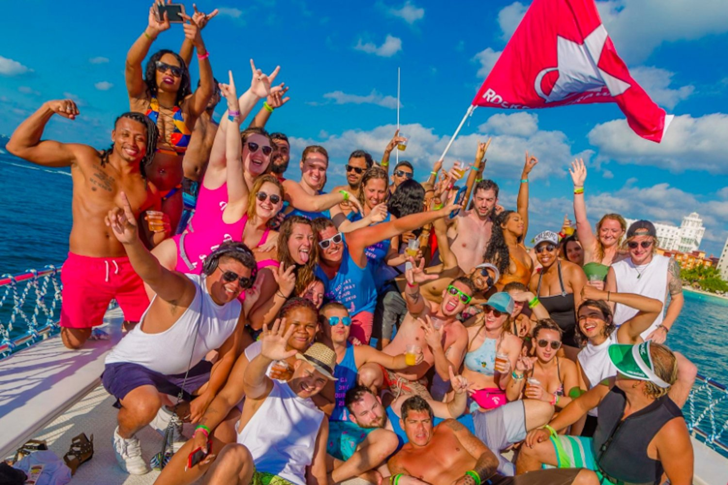Rockstar Boat Party Cancun - Booze Cruise Cancun (18+)