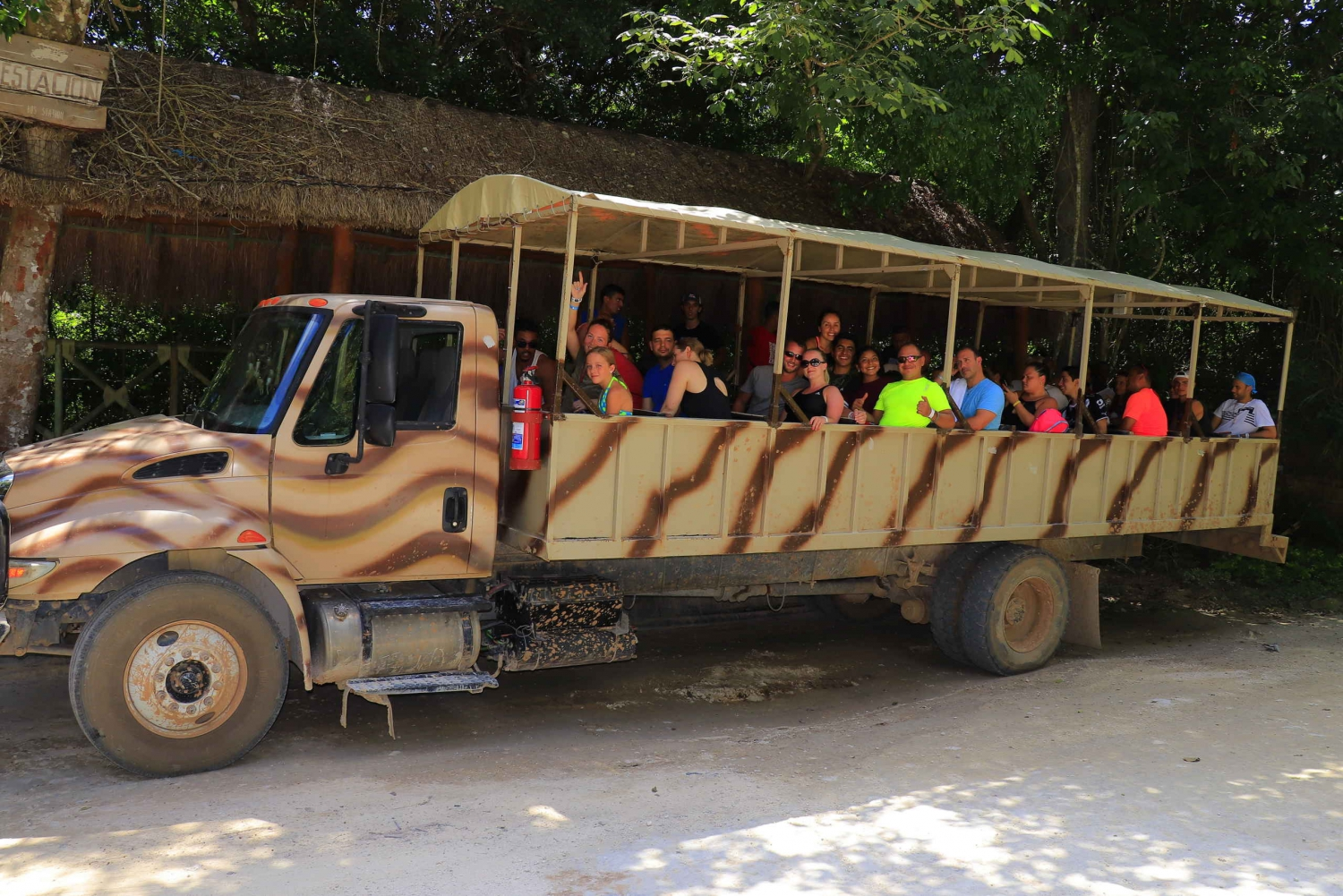 Selvatica Extreme Adventure Zip Lining, Cenote & Army Truck