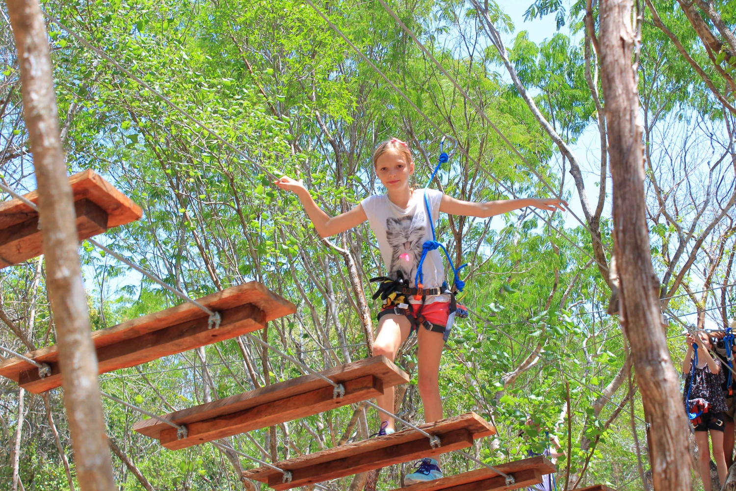 Treetop Adventure, High Rope, Zip Line & Cenote Park