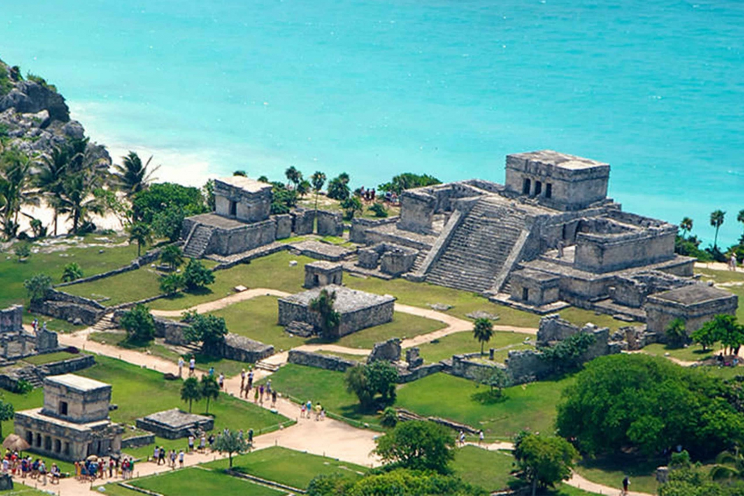 Tulum, Cenote and Playa del Carmen Full-Day Tour from Cancun