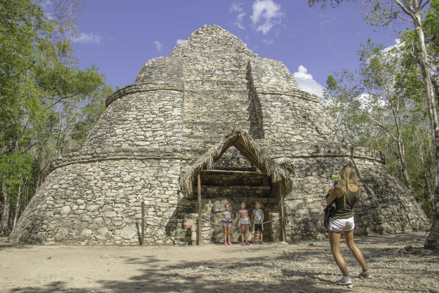 Tulum, Coba, Cenote, and Playa del Carmen Tour from Cancun