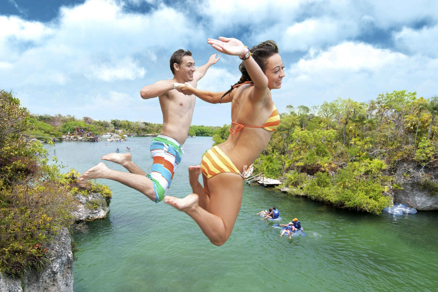Xel-Ha Park and Tulum Ruins: 2-Day Adventure