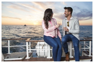Waterfront and Sunset Champagne Cruise