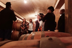 Western Cape: Winelands Tasting and Cellar Tour with Guide