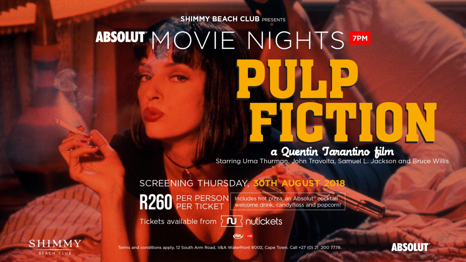 Absolut Movie Nights: Pulp Fiction