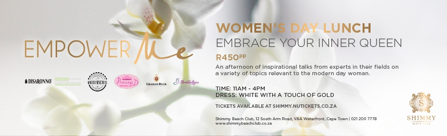 Celebrate Women's Day with Empower Me and Shimmy Beach Club