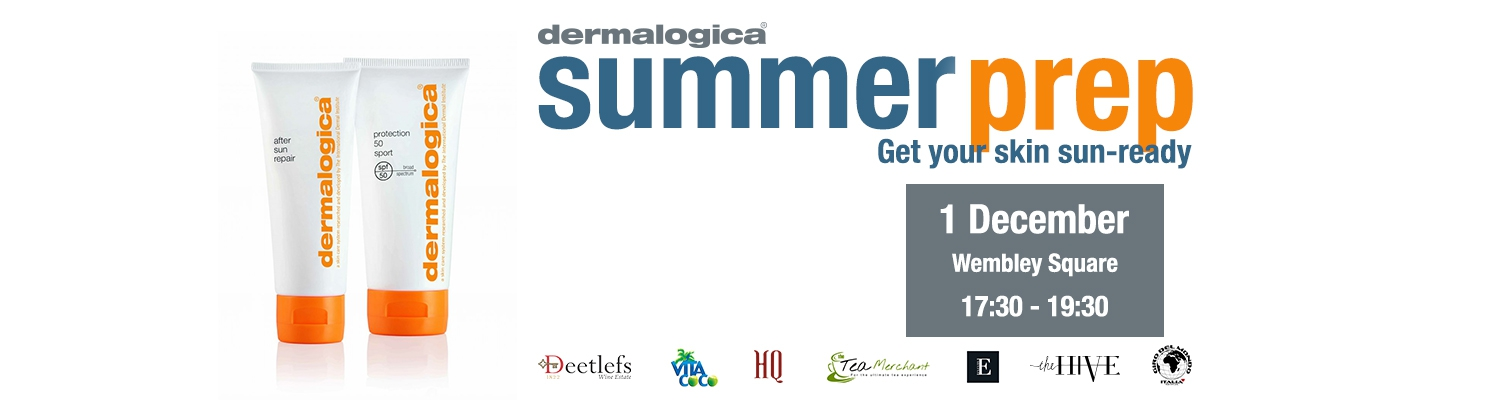 Celebrating Summer Skin with Dermalogica (Wembley Square)