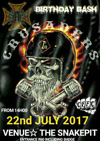 Crusaders MC Cape Town Birthday Bash