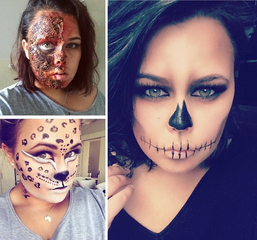 Fantasy Halloween Make-up at Cape Town Beauty Bar