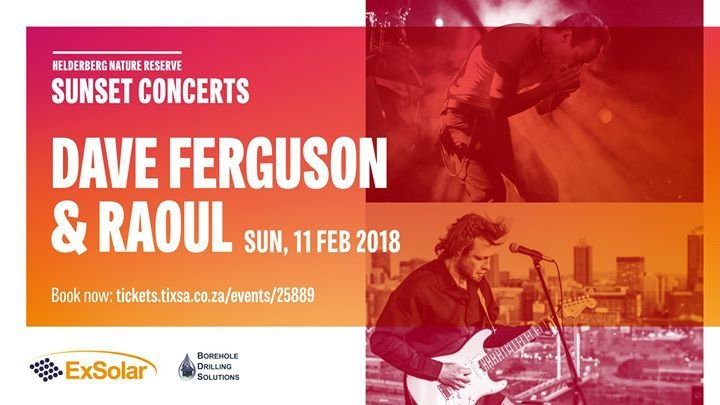 Lonesome Dave & Raoul: Helderberg Sunset Concerts Blues 11th Feb