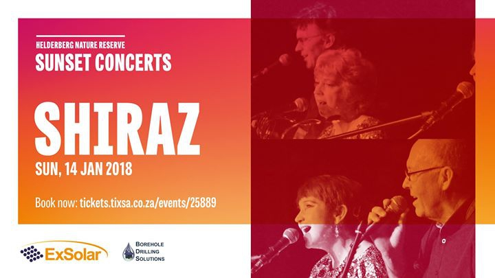Shiraz: Helderberg Sunset Concerts Sun, 14th January 2018