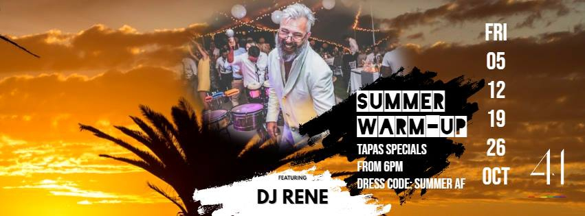 summer warm up with Dj Rene
