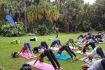 Saturday Company`s Garden Outdoor Yoga Classes