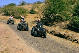 Boa Vista Island: Full-Day ATV Bike Adventure with Lunch
