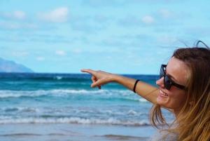 Boa Vista Island: Half-Day 4x4 Tour with Santa Monica Beach