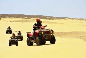 Boa Vista Island: Quad Adventure to Cabo Santa Maria Beach