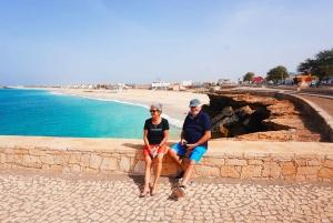From Praia: Full-Day Maio Island Experience